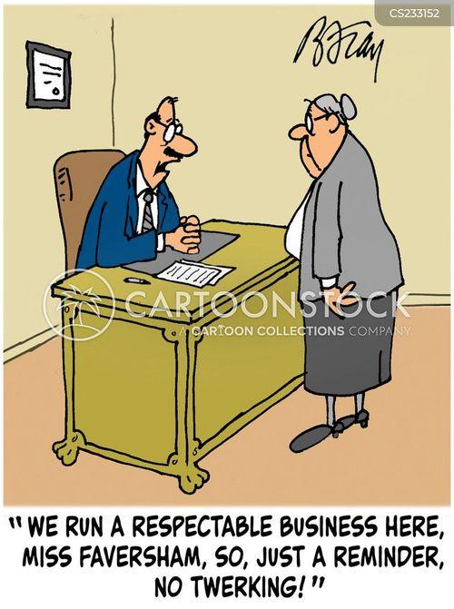 respectability cartoon