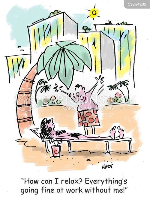 job securities cartoon