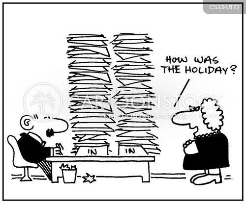 piling up cartoon