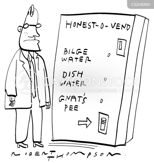 drink machine cartoon