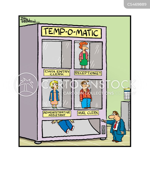 administrative assistant cartoon
