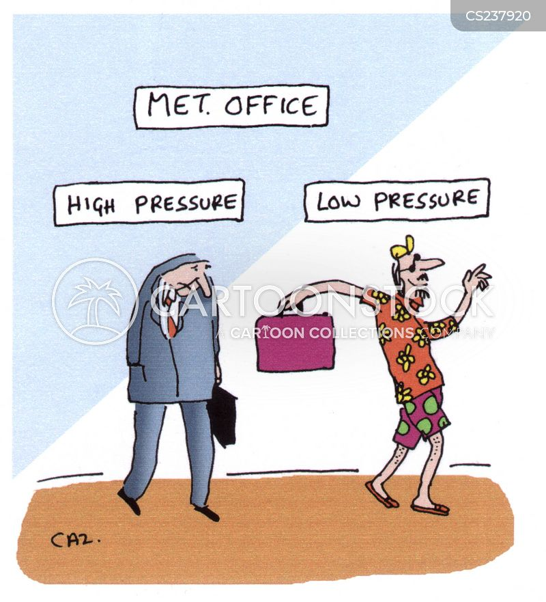 high pressure cartoon