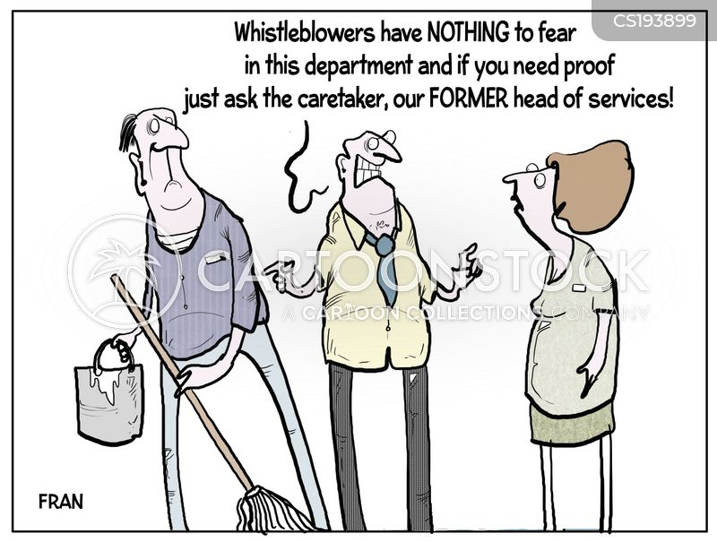 caretaker cartoon