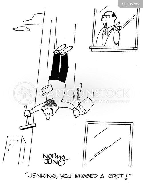 window washers cartoon
