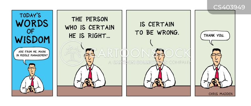 strong opinions cartoon