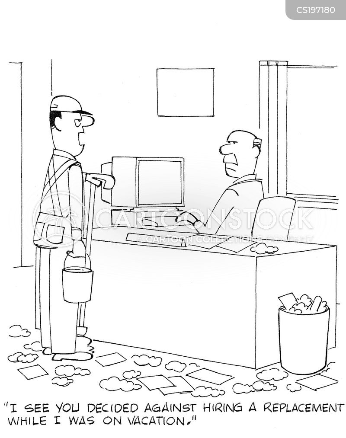 annual leave cartoon
