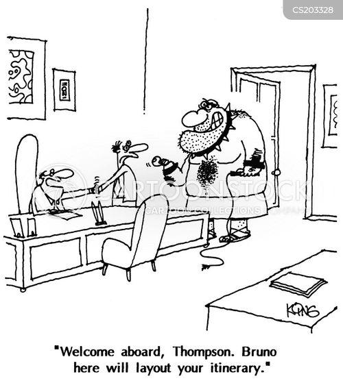 galley cartoon
