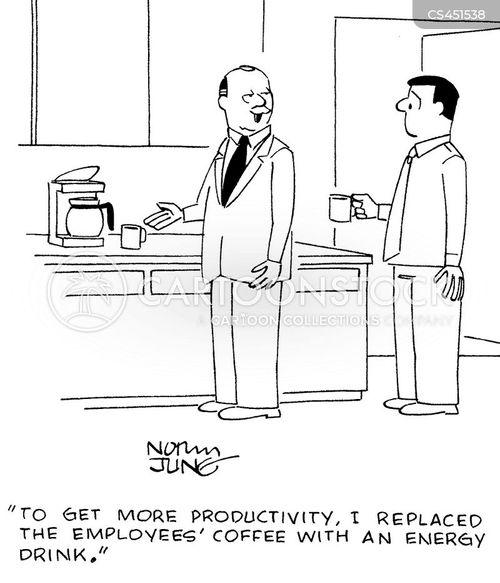 increasing productivity cartoon