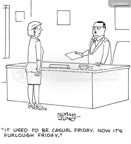 furloughs cartoon