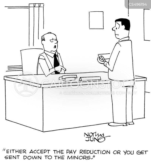 paycuts cartoon