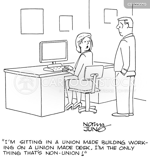 non- union cartoon