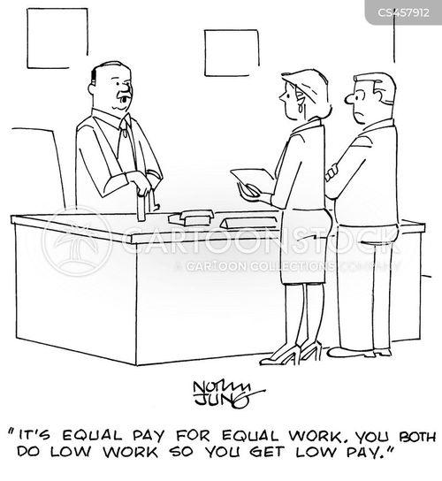 pay checks cartoon