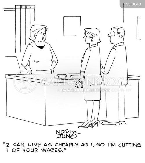 costs of living cartoon