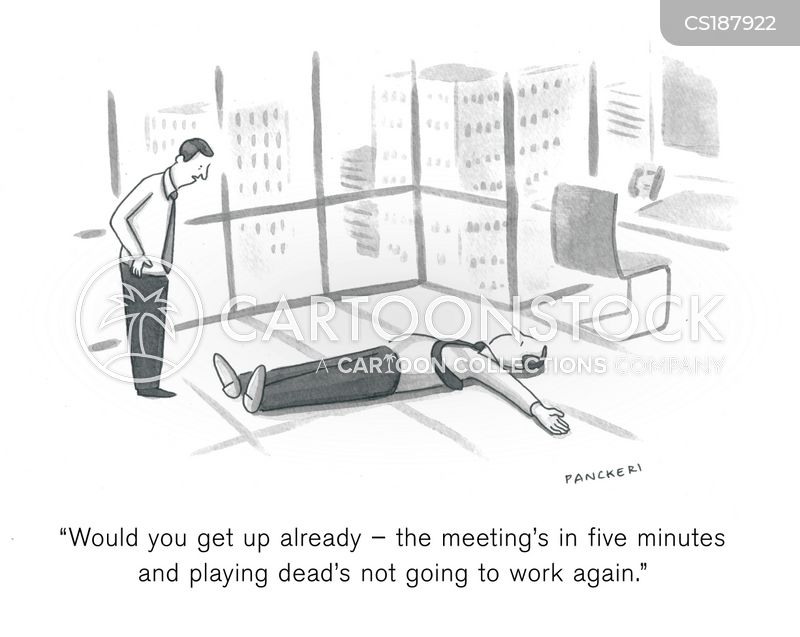 avoidance tactics cartoon