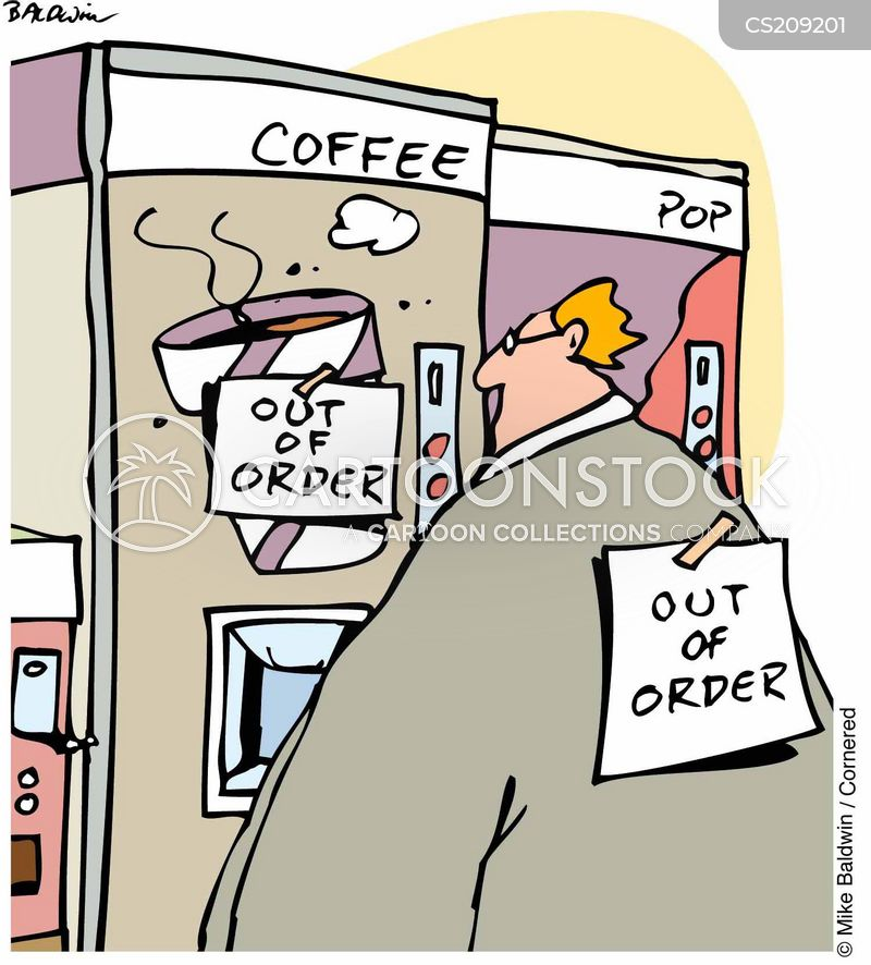 out of order cartoon