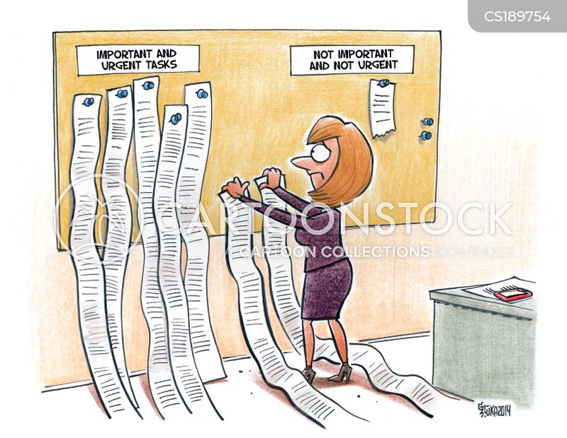 to-do lists cartoon