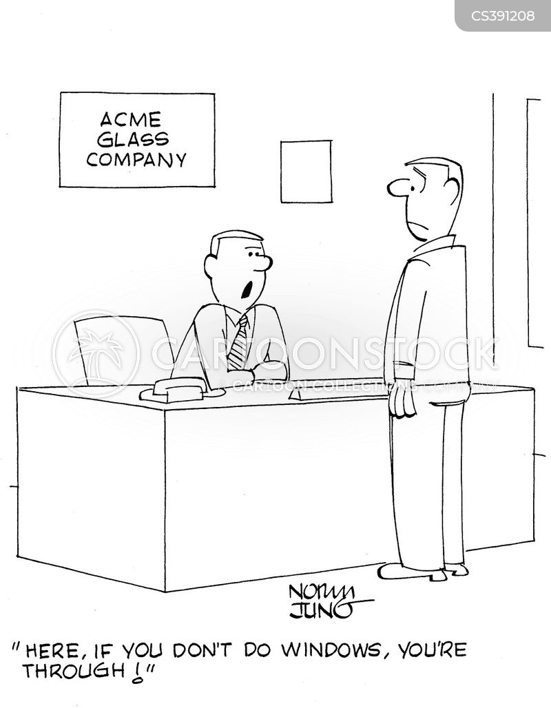 job qualification cartoon