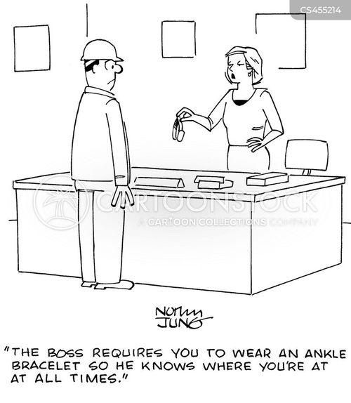 ankle bracelet cartoon