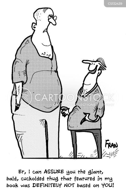 disclaiming cartoon