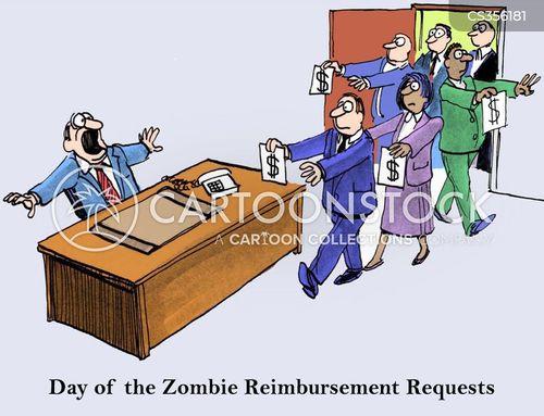 reimbursement cartoons and comics funny pictures from cartoonstock