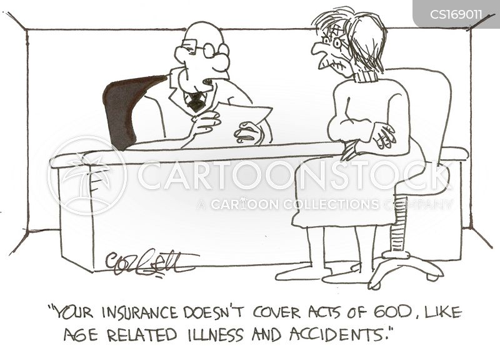 insurance policies cartoon