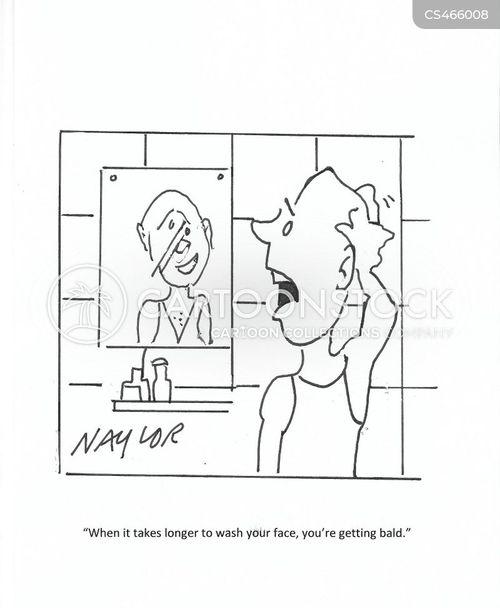 face wash cartoon