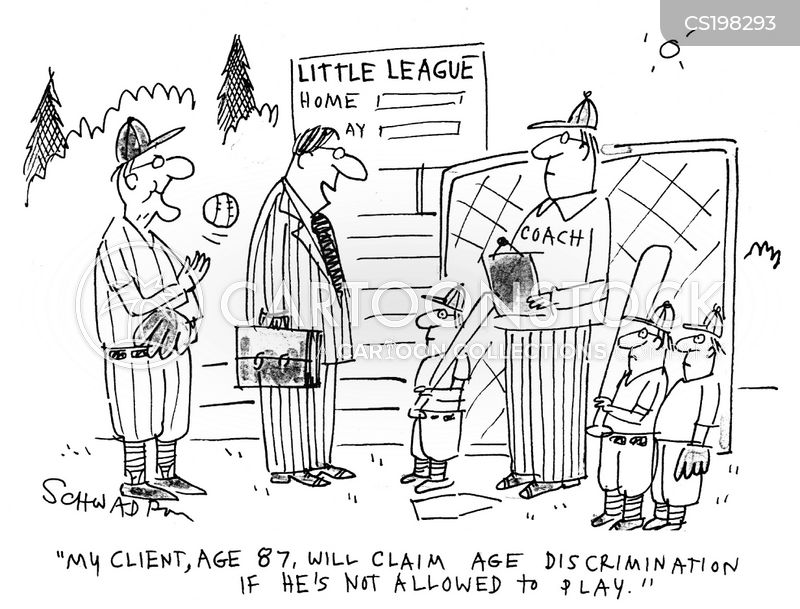 age discrimination cartoon