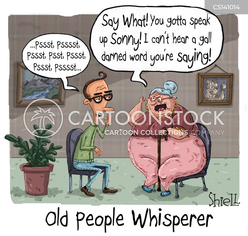 whisperers cartoon