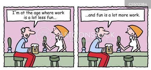sympathetic listener cartoon