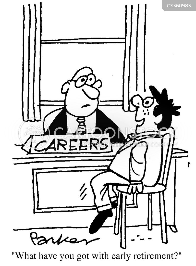 careers teachers cartoon