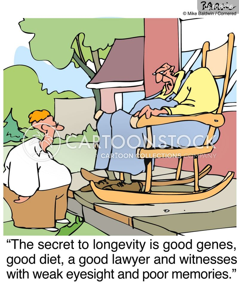 centenarians cartoon