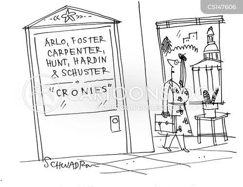 cronies cartoon