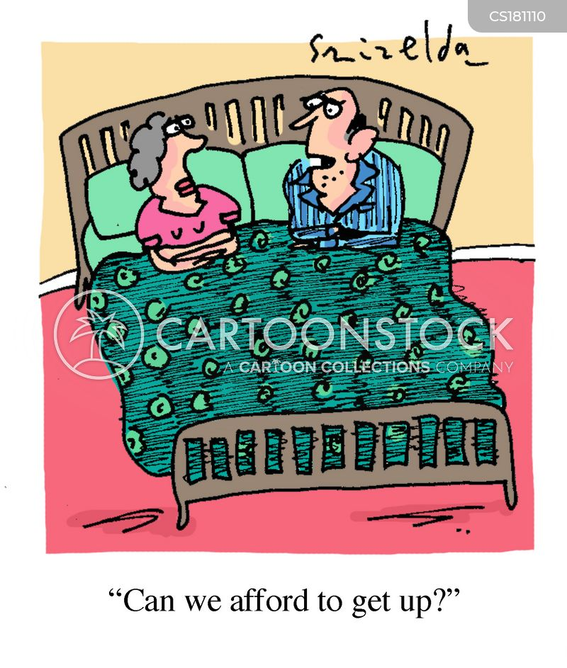 living cost cartoon
