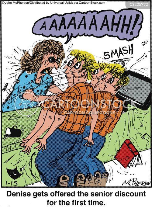 gerontophobia cartoon
