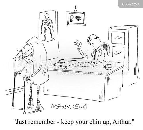 chin up cartoon
