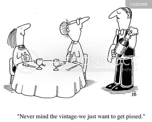 pissed cartoon