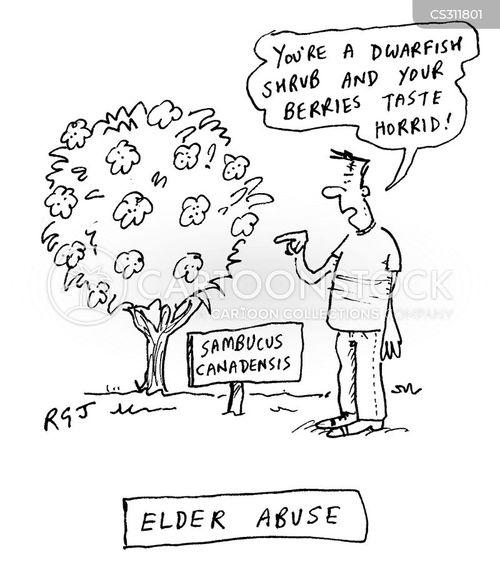 abusive cartoon