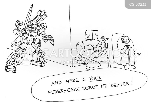care homes cartoon