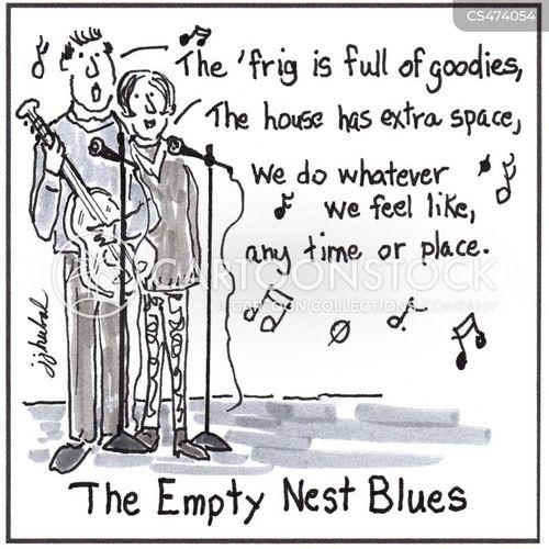 empty-nest cartoon
