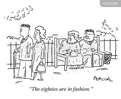 vintage fashions cartoon