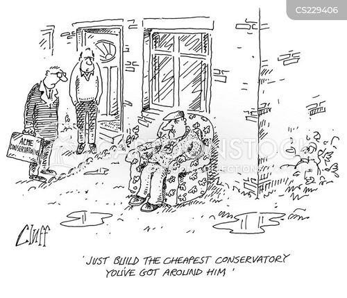conservatory cartoon
