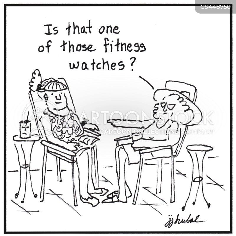 smartwatch cartoon