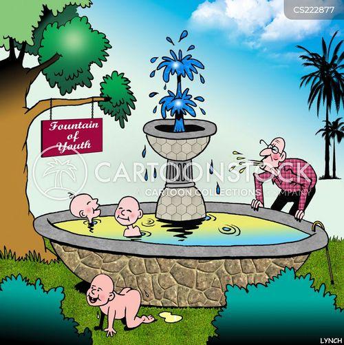 legendary springs cartoon