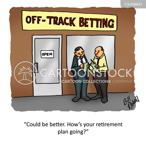 retirement savings accounts cartoon