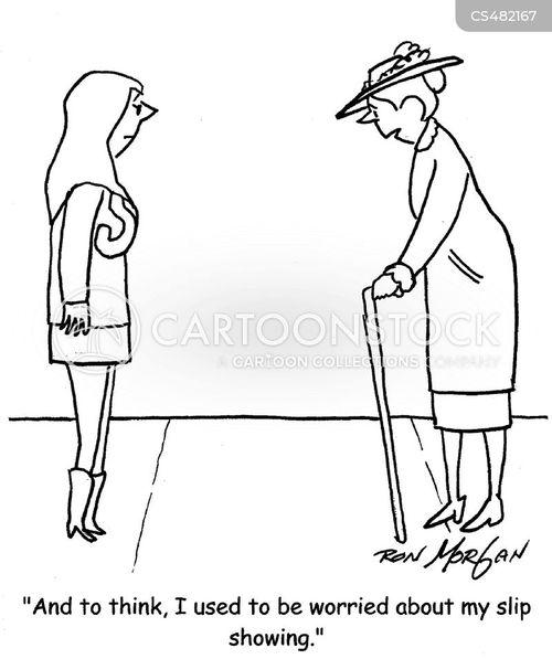 miniskirt cartoon