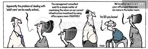 old-age pensioner cartoon
