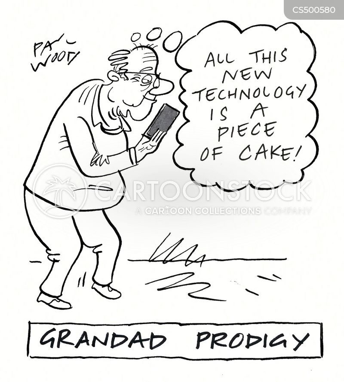 generational divides cartoon