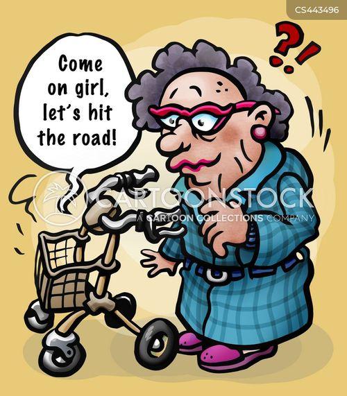 disabled access cartoon