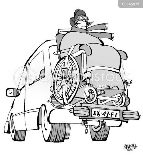 luggage rack cartoon