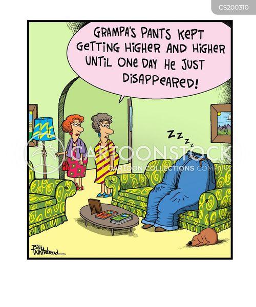 old-aged cartoon